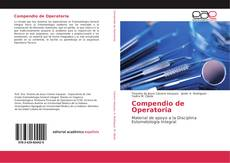 Compendio de Operatoria的封面
