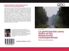 Portada del libro de La participación como límite en las democracias contemporáneas
