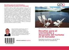 Portada del libro de Desafíos para el crecimiento y desarrollo del turismo en El Salvador