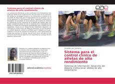 Portada del libro de Sistema para el control clínico de atletas de alto rendimiento