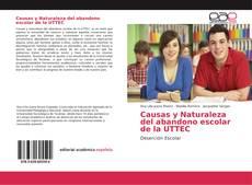 Portada del libro de Causas y Naturaleza del abandono escolar de la UTTEC