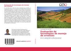 Bookcover of Evaluación de tecnologías de manejo de arvenses