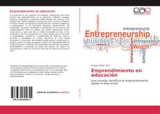 Bookcover of Emprendimiento en educación
