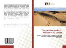 Bookcover of Camomille du sahara, Matricaire du sahara