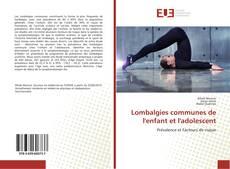 Обложка Lombalgies communes de l'enfant et l'adolescent