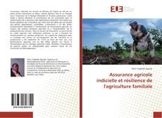 Borítókép a  Assurance agricole indicielle et résilience de l'agriculture familiale - hoz