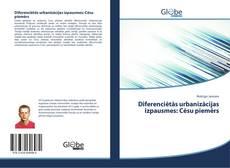 Capa do livro de Diferenciētās urbanizācijas izpausmes: Cēsu piemērs