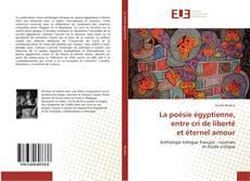 Capa do livro de La poésie égyptienne, entre cri de liberté et éternel amour