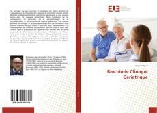 Couverture de Biochimie Clinique Gériatrique