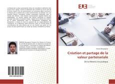 Portada del libro de Création et partage de la valeur partenariale