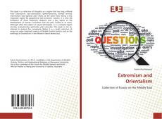 Bookcover of Extremism and Orientalism
