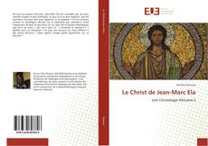 Bookcover of Le Christ de Jean-Marc Ela
