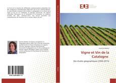 Couverture de Vigne et Vin de la Catalogne