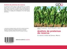 Bookcover of Análisis de proteínas de reserva