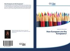 Copertina di How European are the Europeans?