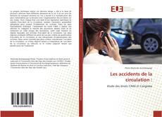 Couverture de Les accidents de la circulation :