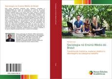 Capa do livro de Sociologia no Ensino Médio do Brasil