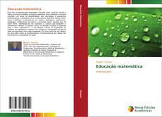 Educação matemática kitap kapağı