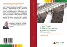 Capa do livro de O pensamento jurisconstitucional das autonomias políticas portuguesas