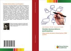 Couverture de Gestão democrática e participativa