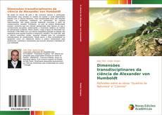 Dimensões transdisciplinares da ciência de Alexander von Humboldt的封面