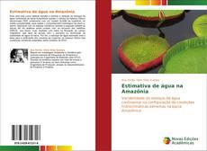 Capa do livro de Estimativa de água na Amazônia