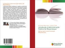 Buchcover von Introdução à Administração Pública de Moçambique