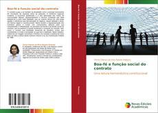 Bookcover of Boa-fé e função social do contrato