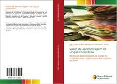 Capa do livro de Vozes de aprendizagem de Língua Espanhola