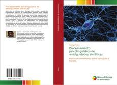 Обложка Processamento psicolinguístico de ambiguidades sintáticas