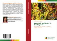 Capa do livro de Avaliação legislativa e direito penal