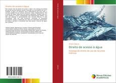 Capa do livro de Direito de acesso à água