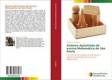 Capa do livro de Sistema Apostilado de ensino Matemática de São Paulo