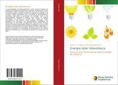 Energia solar fotovoltaica kitap kapağı