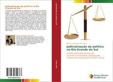 Copertina di Judicialização da política no Rio Grande do Sul