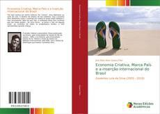 Capa do livro de Economia Criativa, Marca País e a inserção internacional do Brasil