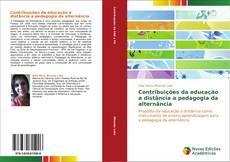 Capa do livro de Contribuições da educação a distância a pedagogia da alternância