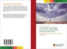 Bookcover of A liberdade na relação indivíduo e comunidade segundo Edith Stein