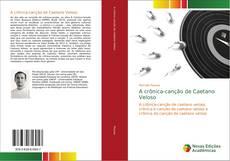 Capa do livro de A crônica-canção de Caetano Veloso