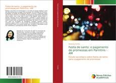 Bookcover of Festa de santo: o pagamento de promessas em Parintins - AM