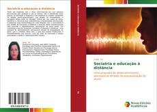 Capa do livro de Sociatria e educação à distância