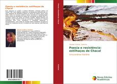 Portada del libro de Poesia e resistência: estilhaços de Chacal