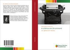 Bookcover of A crônica em Drummond