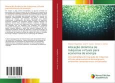 Capa do livro de Alocação dinâmica de máquinas virtuais para economia de energia