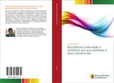 Capa do livro de Resistência à educação a distância: por que acontece e seus mecanismos