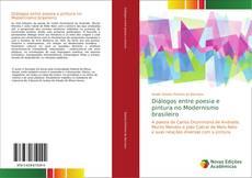Portada del libro de Diálogos entre poesia e pintura no Modernismo brasileiro