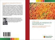 Capa do livro de Inclinações da metapoesia de Manoel de Barros