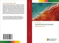 Portada del libro de A poesia de Paulo Leminski