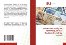Capa do livro de Aventure et ambiguïté romanesques chez Boubacar Boris Diop