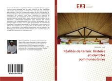 Обложка Réalités de terroir. Histoire et identités communautaires